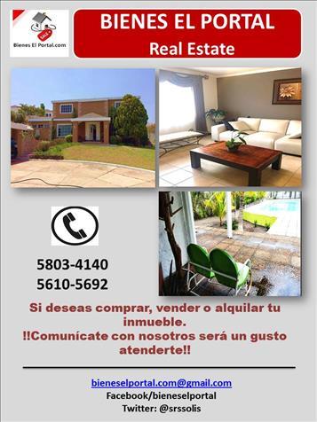 Inmobiliaria bienes el portal en guatemala anuntico for El portal inmobiliaria