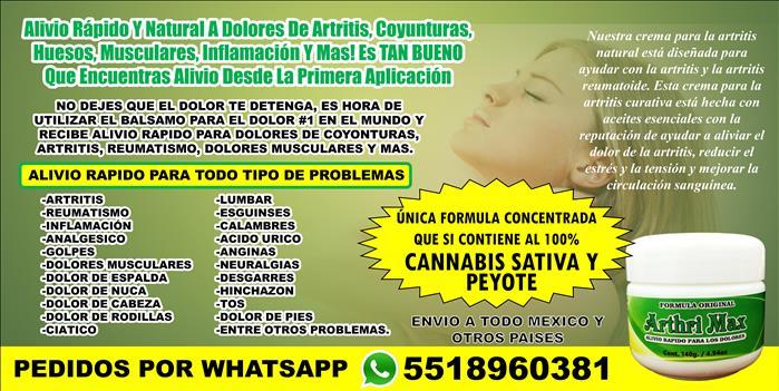 CREMA GEL CONCENTRADA DE PEYOTE Y CANNABIS SATIVA 100% ORIGINAL