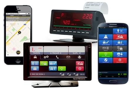 Tecnologías para todo taxis.