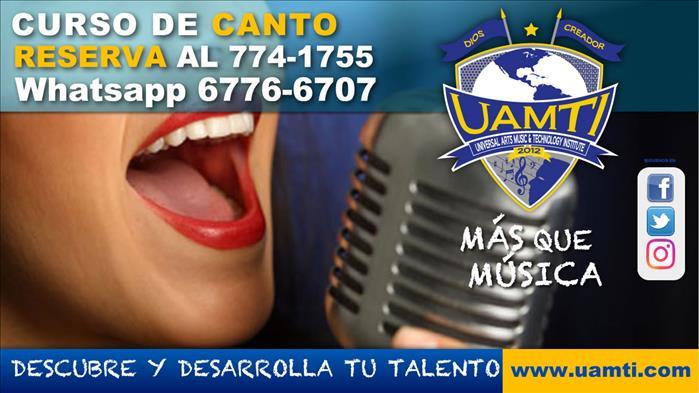 Inicia en  canto en Uamti David chiriqui whatsapp 6776-6707  /  Tel 774-1755