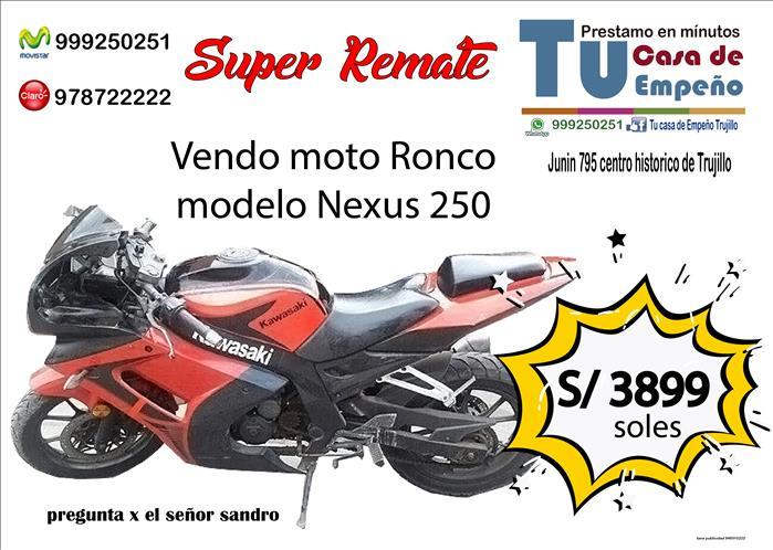 Moto Ronco nexus 250