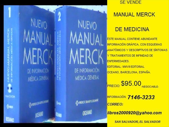MANUAL MERCK DE MEDICINA
