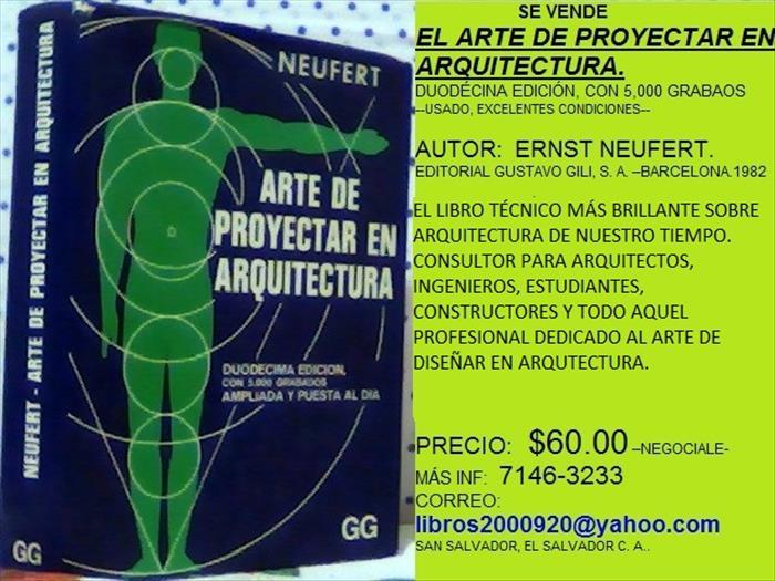 EL ARTE DE PROYECTAR EN ARQUITECTURA.