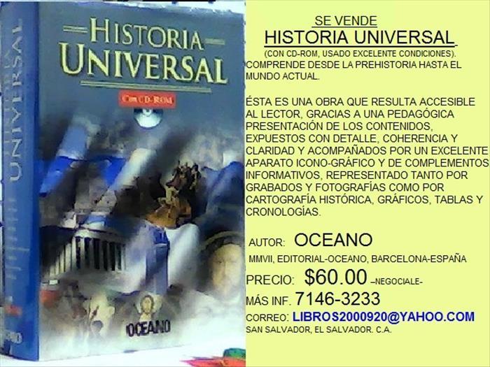 HISTORIA UNIVERSA